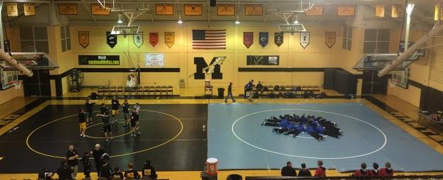 Wrestling 2 mat gym